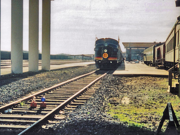KCS  business train at Meridian, MS