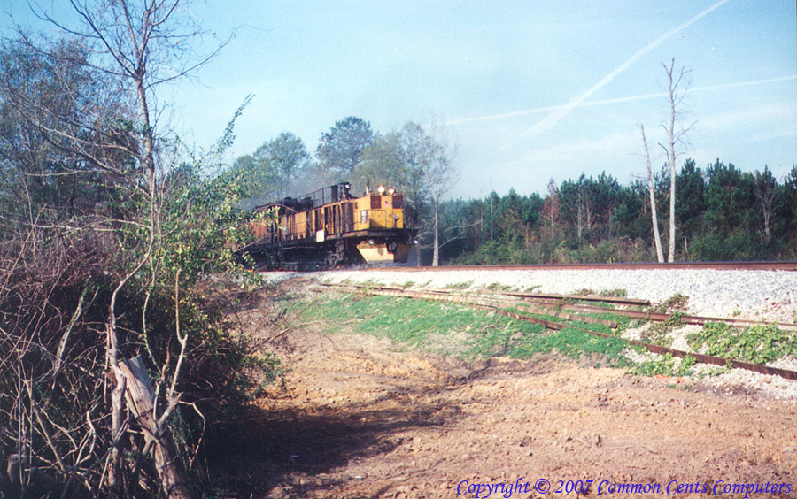"Track Maintenance Train - Meridian ""Speedway"""