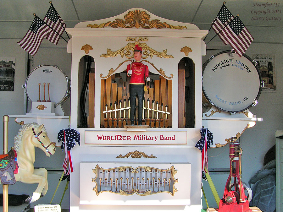 "Wurlitzer ""Military Band"" Carousel Band Organ - Soule' Steamfest 2011"