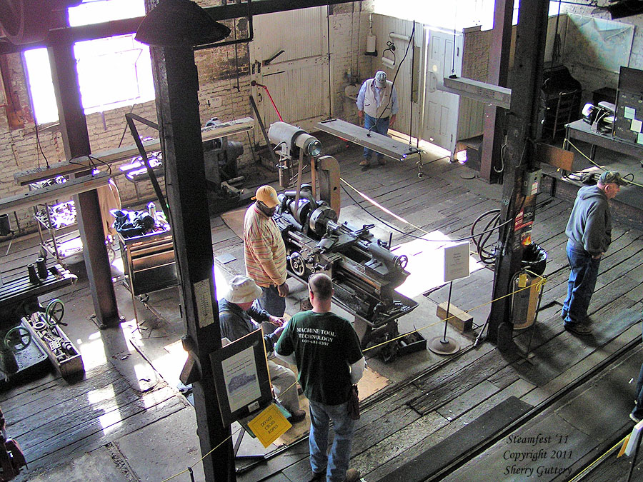 View of the west end of the Machine Shop - Soule' Steamfest 2011