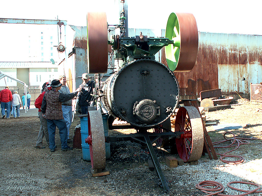 Frick Steam Engine -  Soule' Steamfest 2011