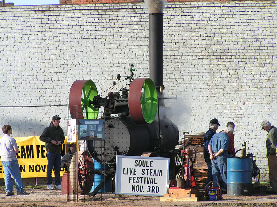 Soule Live Steam Festival Meridian, MS 2007